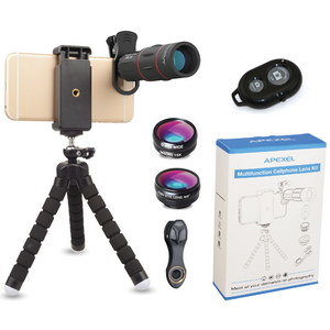 Apexel - Multi-Functional Smartphone Lens Kit - Modern Idea