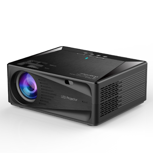 FreesunTV- C600- HD 1080P LED Portable Home Theatre Multimedia Projector - Modern Idea