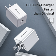 Load image into Gallery viewer, Baseus - Type C Fast Charging Wall Adapter Cube - Modern Idea