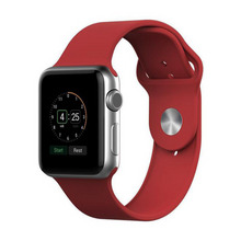 Charger l'image dans la galerie, Silicone Sport Watch Strap for Apple Watch - Modern Idea