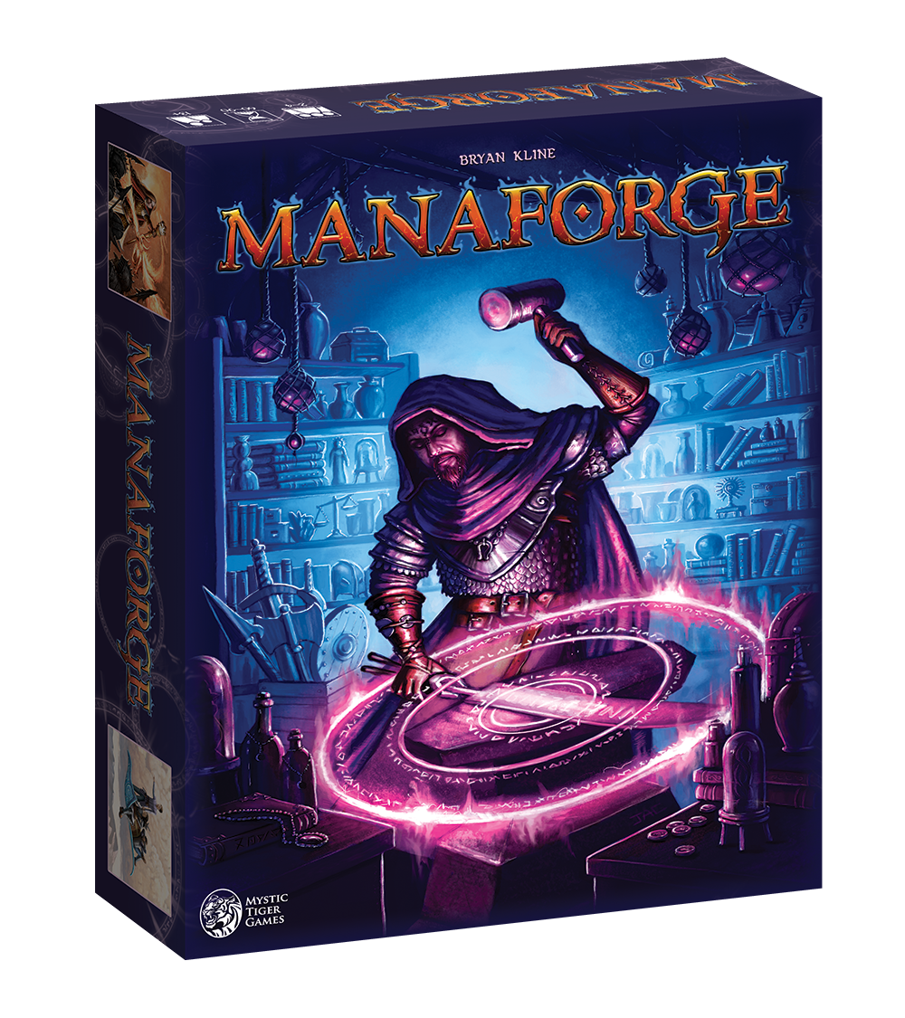 Manaforge board game box