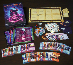 Manaforge game components