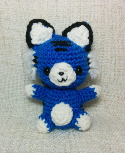 Mystic Tiger Games blue stuffed animal