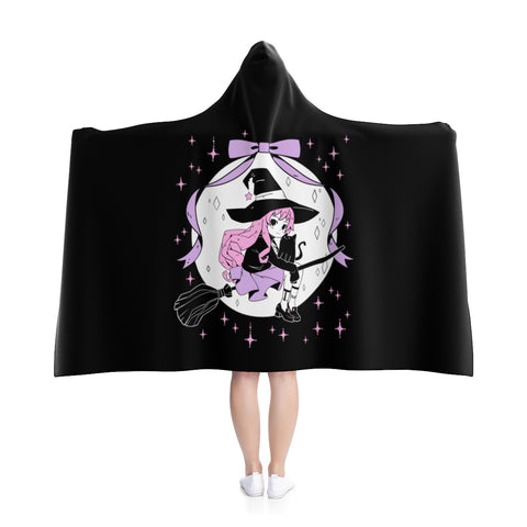 LILITH Witch Cloak (Black) by fawnbomb - peachiieshop