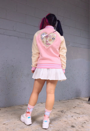 Pink Heart Ita Jacket