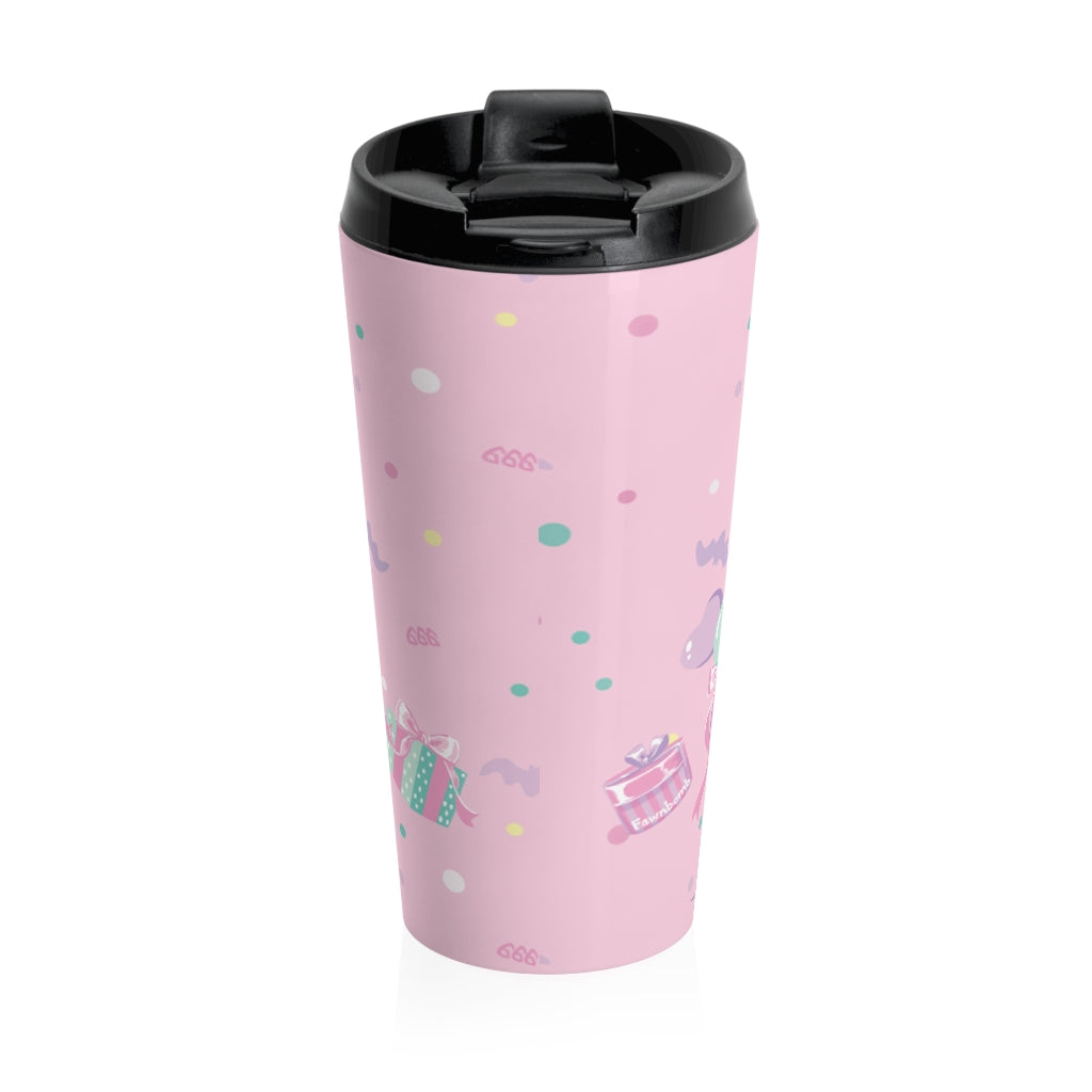 Baby Baphomet Birthday Travel Mug - peachiieshop