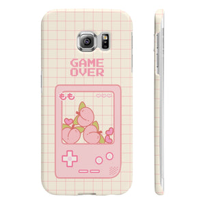 Game Over Peach Phone Case (samsung, iphone, huawei +100 more)