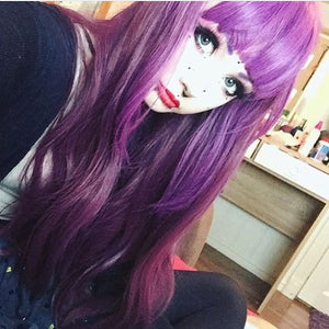 Grim Cherry Wig 75cm Heat Resistant - peachiieshop