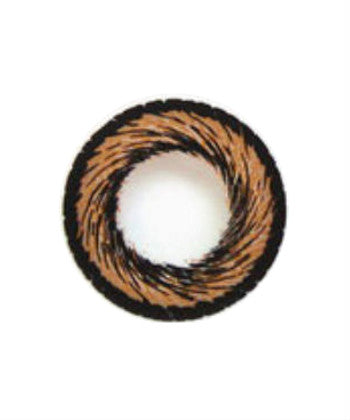 Hanabi Brown Circle Lens - peachiieshop