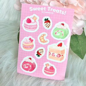 SWEET TREATS A6 Sticker Sheet Pre-Order