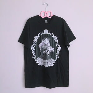 Milly Shapiro x Fawnbomb MIRROR Shirt (Black) - peachiieshop