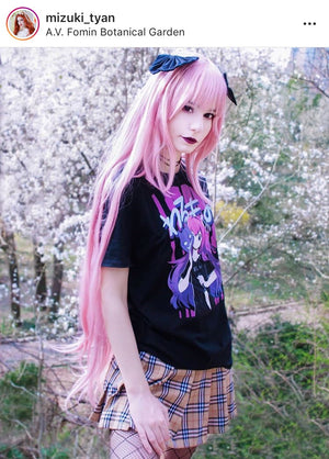 'WARUMONO' Yami Kawaii Tee by Fawnbomb - peachiieshop