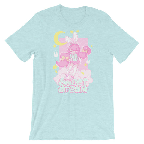 Sweet Dreams T-Shirt (Blue) by fawnbomb - peachiieshop