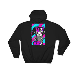 TRIXIE STIX Hoodie (Black) by fawnbomb - peachiieshop