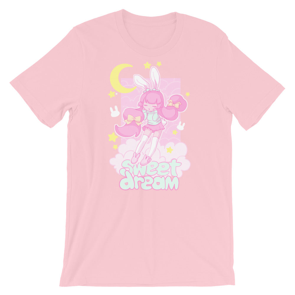 Sweet Dreams T-Shirt (Pink) by fawnbomb - peachiieshop