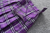 Plaid Japanese Uniform Pleated Skirts 12 colours