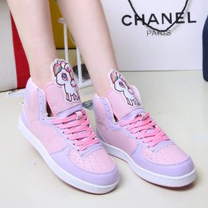 Candy Colour Fairy Kei Pastel Sneakers