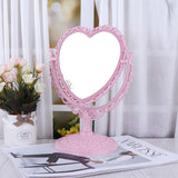 Sweetheart Standing Makeup Mirror - peachiieshop