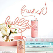 Bubbly Word Straw - Drêve