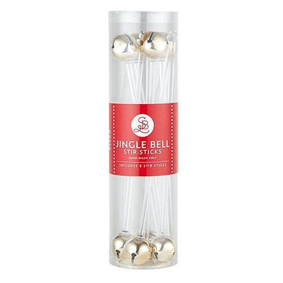 Jingle Bell Drink Stirrers