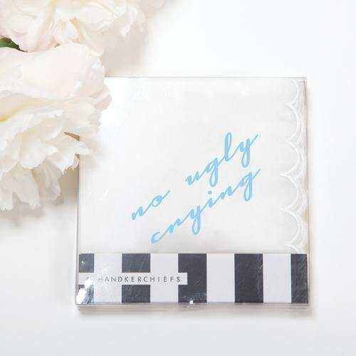 No Ugly Crying Handkerchiefs (Set of 4) - Drêve