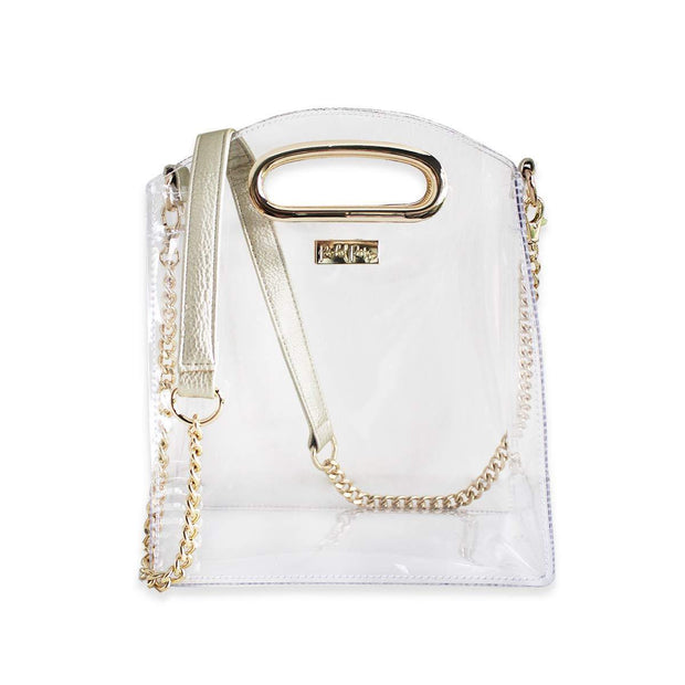 Gold Crossbody Bag - Drêve