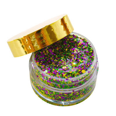 Kismet Tinsel Face Glitter in Second Line