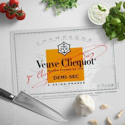Veuve Clicquot Cutting Board