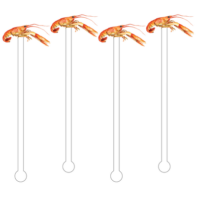 Crawfish Acrylic Stir Sticks - Drêve