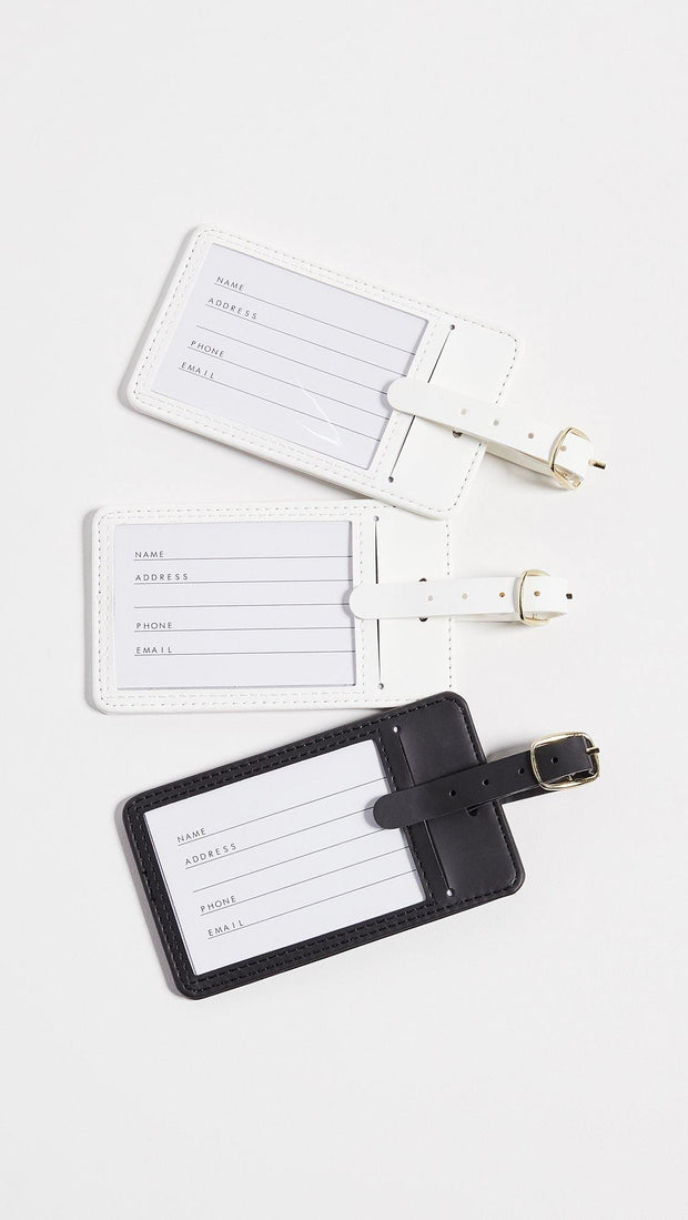His, Hers & Also Hers Luggage Tags - Drêve