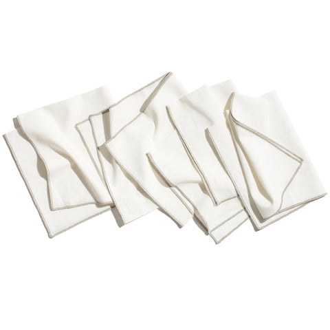 Monterey Organic Cotton Dinner Napkin, Set of 4