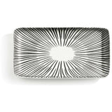 "7"" Black and White Tray"