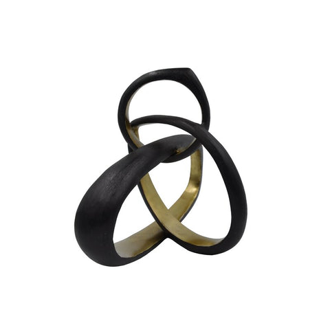 Gold and Black Knot