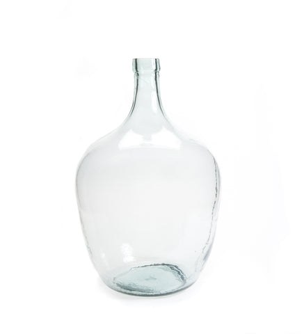 Clear Recycled Demijohn Bottle