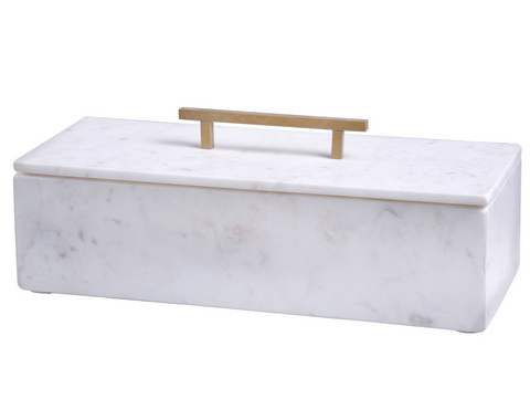 Marble Box with Handle