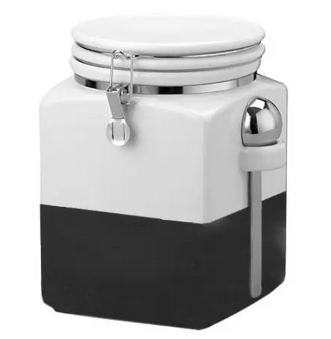 Chalk Dipped Canister