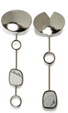 Nickel Salad Server Set