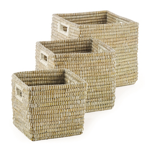 Square Rivergrass Basket