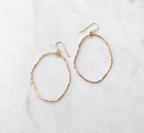 Form Hoop Earrings