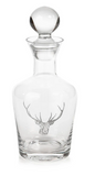 Stag Head Design Decanter