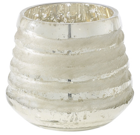 Frosted Stripe Votive