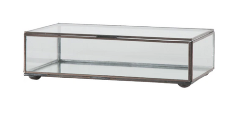 Clear Glass Box