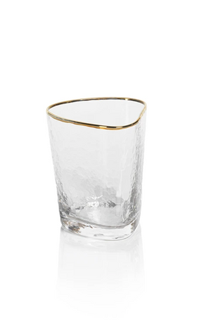 Triangle Old Fashioned Glass