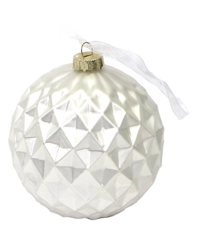 Diamond Cut Ornament