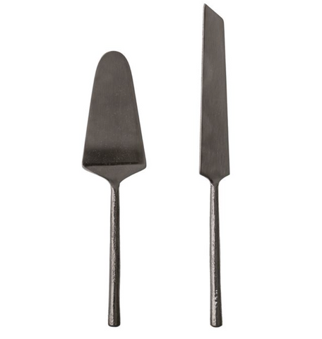 Stainless Steel Cake Servers