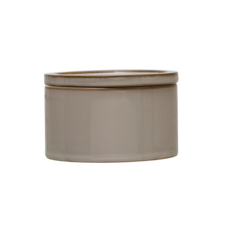Small Stoneware Canister