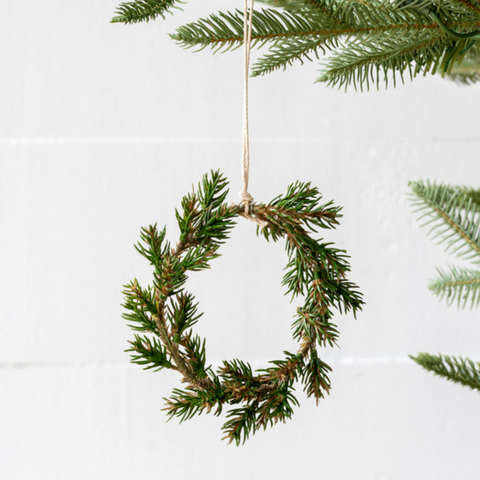 Western Pine Mini Wreath