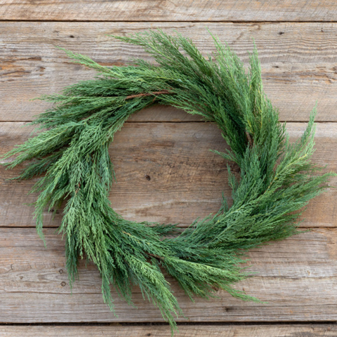 Native Cedar Wreath