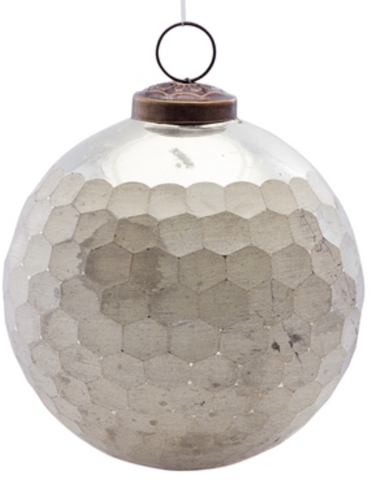 Hammered Ball Ornament