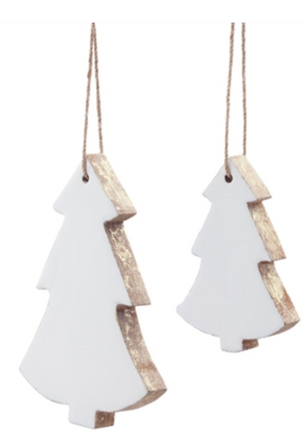 Wooden Tree Ornament